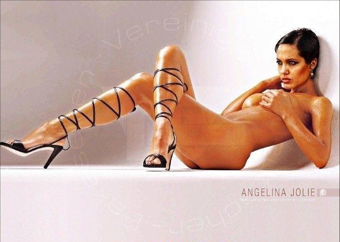 Angelina Jolie Nackt. Fotografie - 132