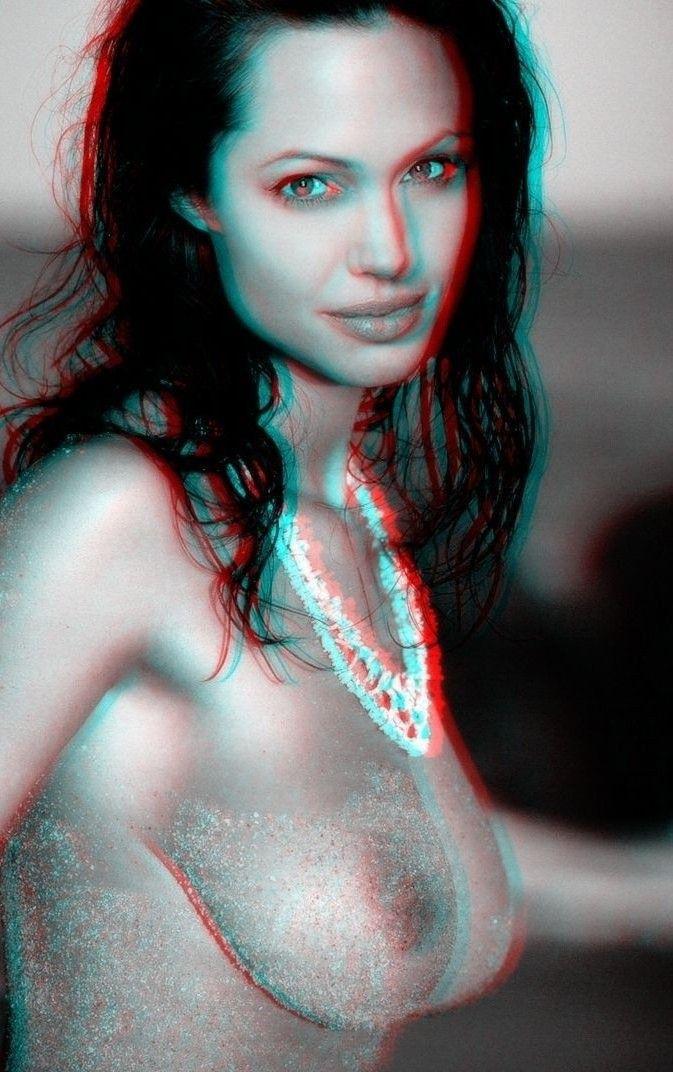 Angelina Jolie Nackt. Fotografie - 143