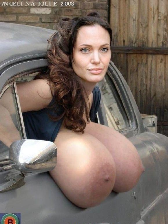 Angelina Jolie Nackt. Fotografie - 146