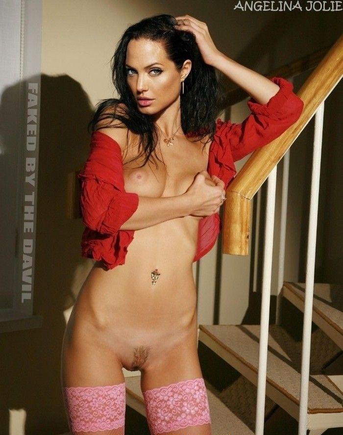 Angelina Jolie Nackt. Fotografie - 158