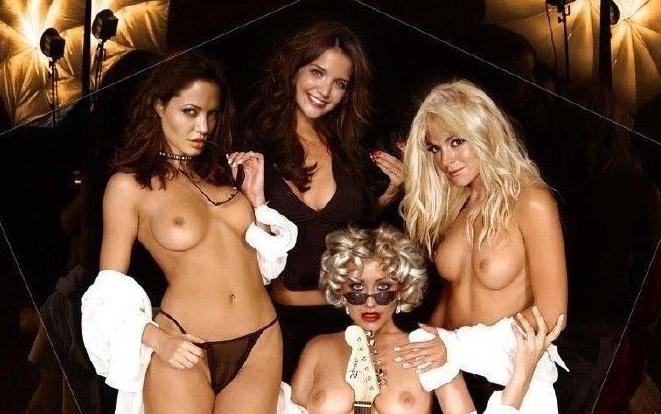 Angelina Jolie Nackt. Fotografie - 160