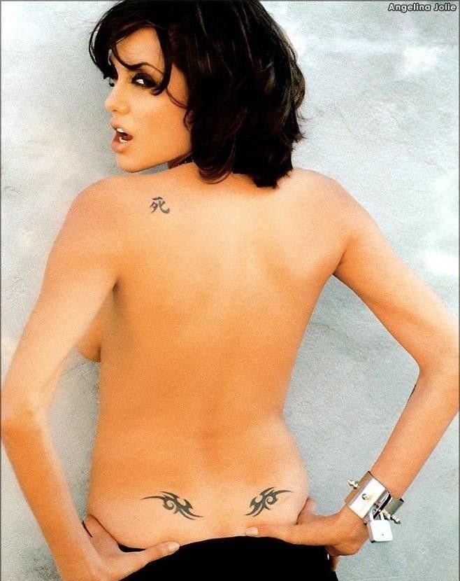Angelina Jolie Nackt. Fotografie - 19