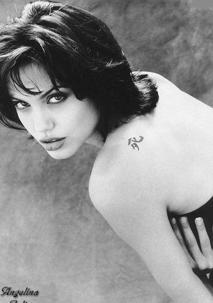 Angelina Jolie Nackt. Fotografie - 34