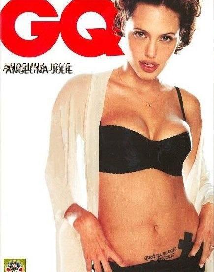 Angelina Jolie Nackt. Fotografie - 36
