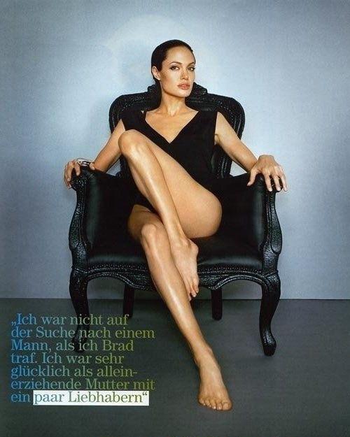 Angelina Jolie Nackt. Fotografie - 38