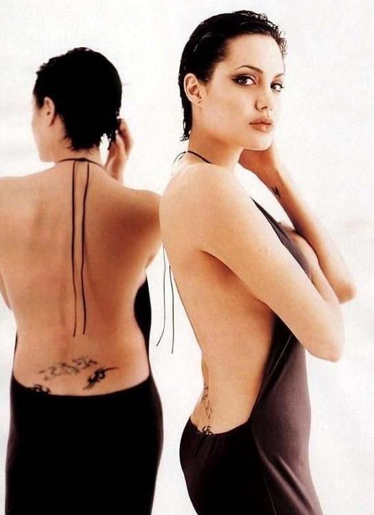 Angelina Jolie Nackt. Fotografie - 44