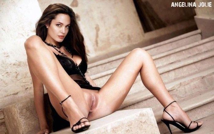 Angelina Jolie Nackt. Fotografie - 52