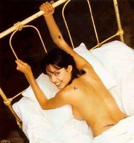 Angelina Jolie Nackt. Fotografie - 6