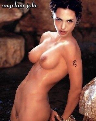 Angelina Jolie Nackt. Fotografie - 7