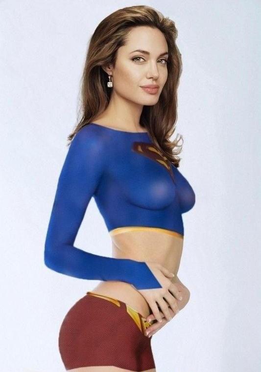 Angelina Jolie Nackt. Fotografie - 71