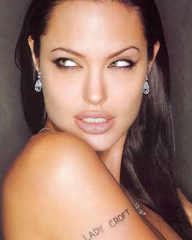 Анджелина Джоли голая. Фото - 98
