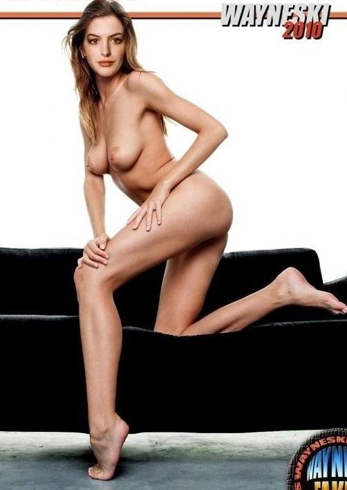 Энн Хэтэуэй голая. Фото - 6