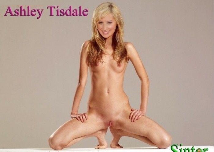 Эшли Тисдейл голая. Фото - 1