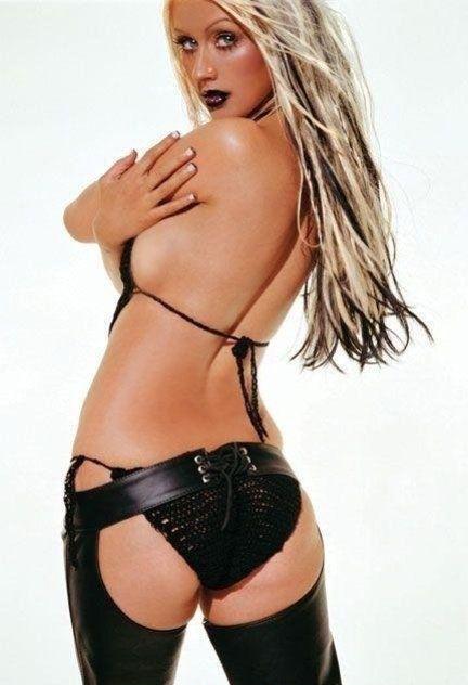 Кристина Агилера голая. Фото - 108