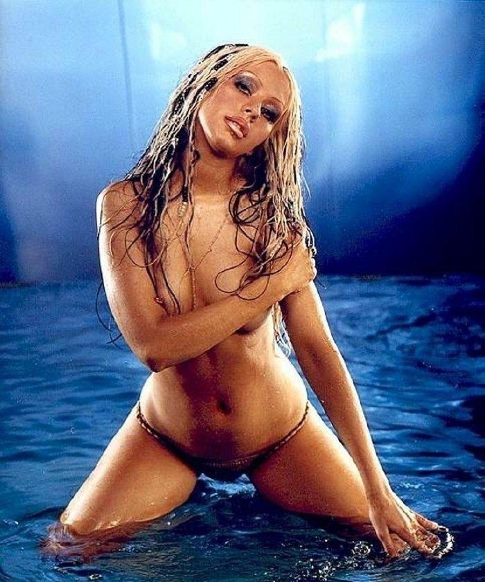 Кристина Агилера голая. Фото - 11