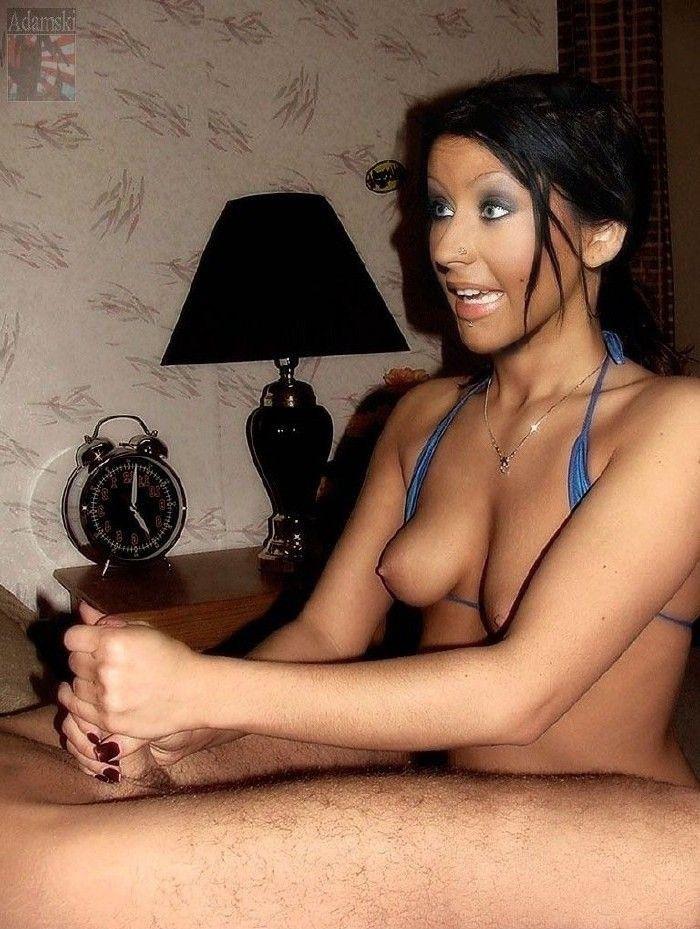 Кристина Агилера голая. Фото - 130