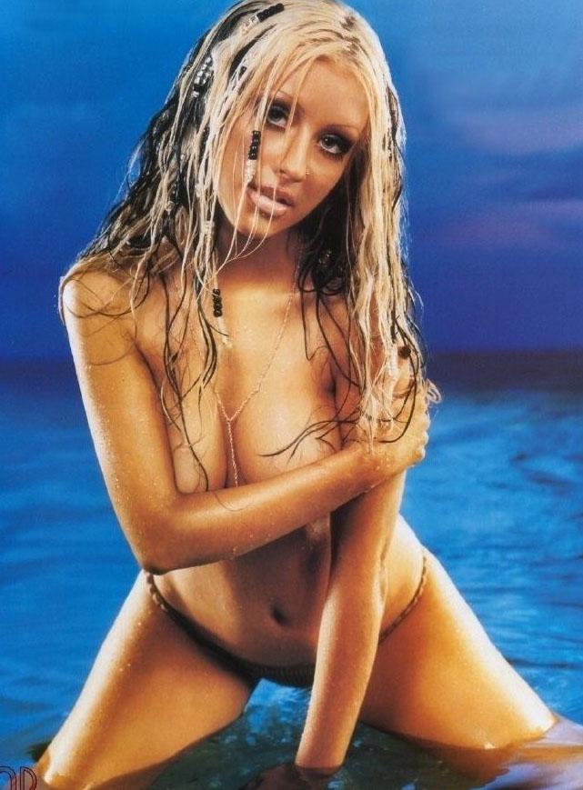 Кристина Агилера голая. Фото - 3