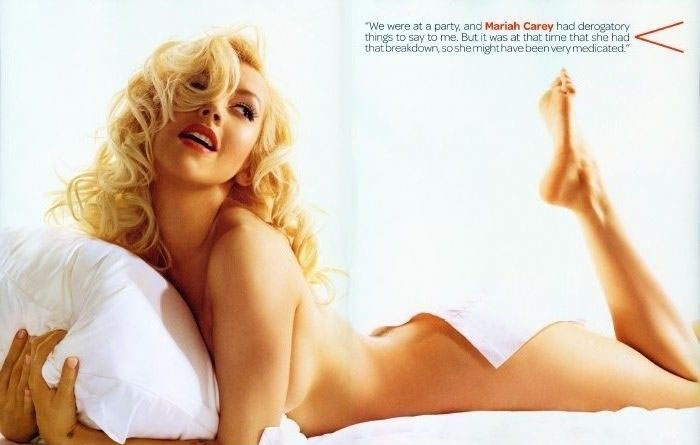 Кристина Агилера голая. Фото - 44