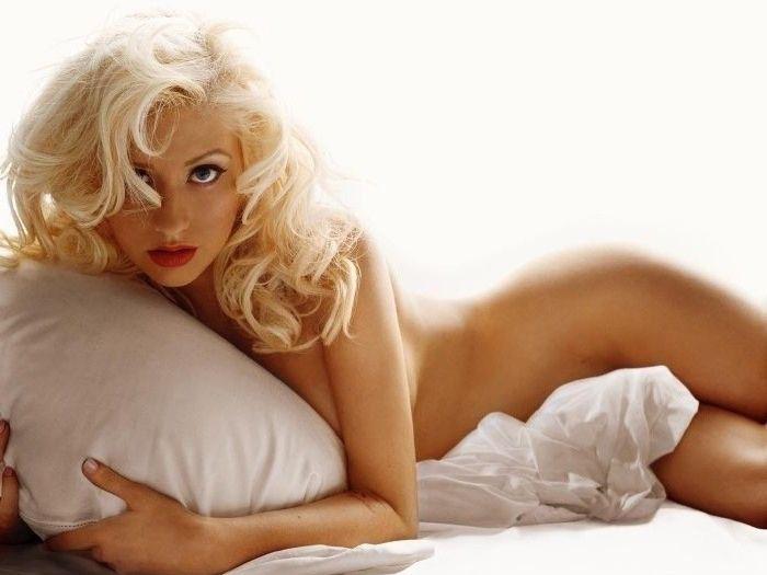 Кристина Агилера голая. Фото - 45