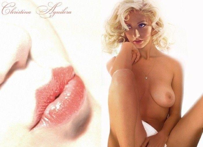 Кристина Агилера голая. Фото - 48