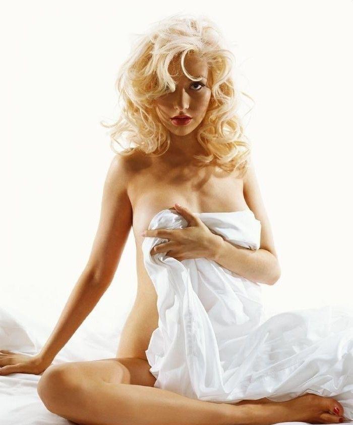Кристина Агилера голая. Фото - 51