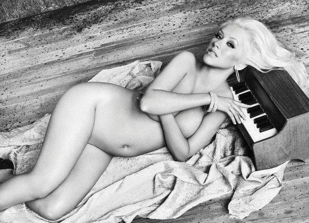 Кристина Агилера голая. Фото - 62