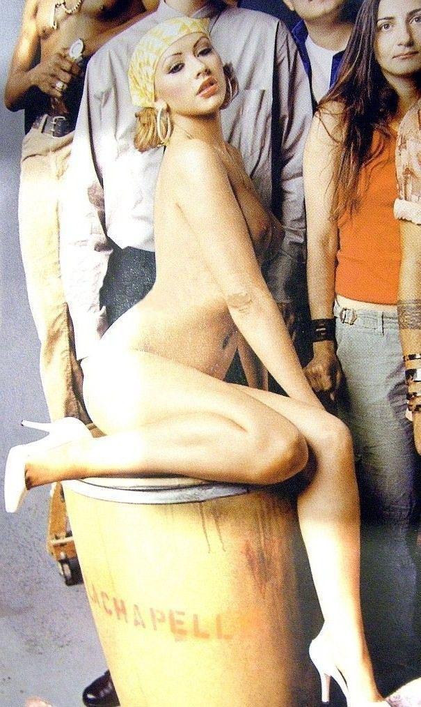 Кристина Агилера голая. Фото - 68