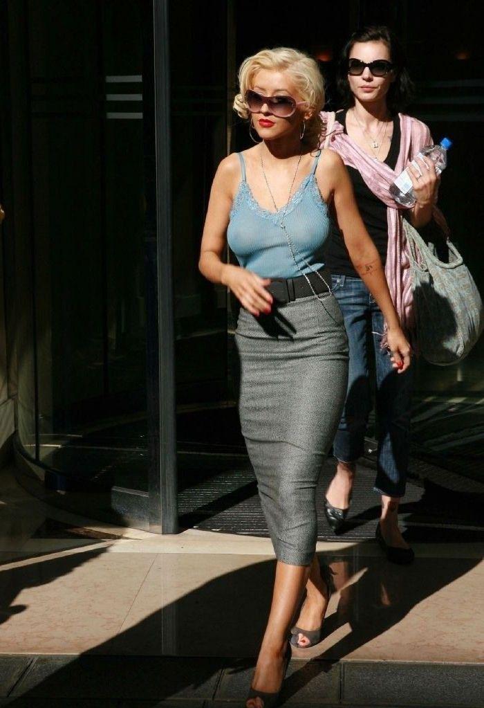 Кристина Агилера голая. Фото - 69