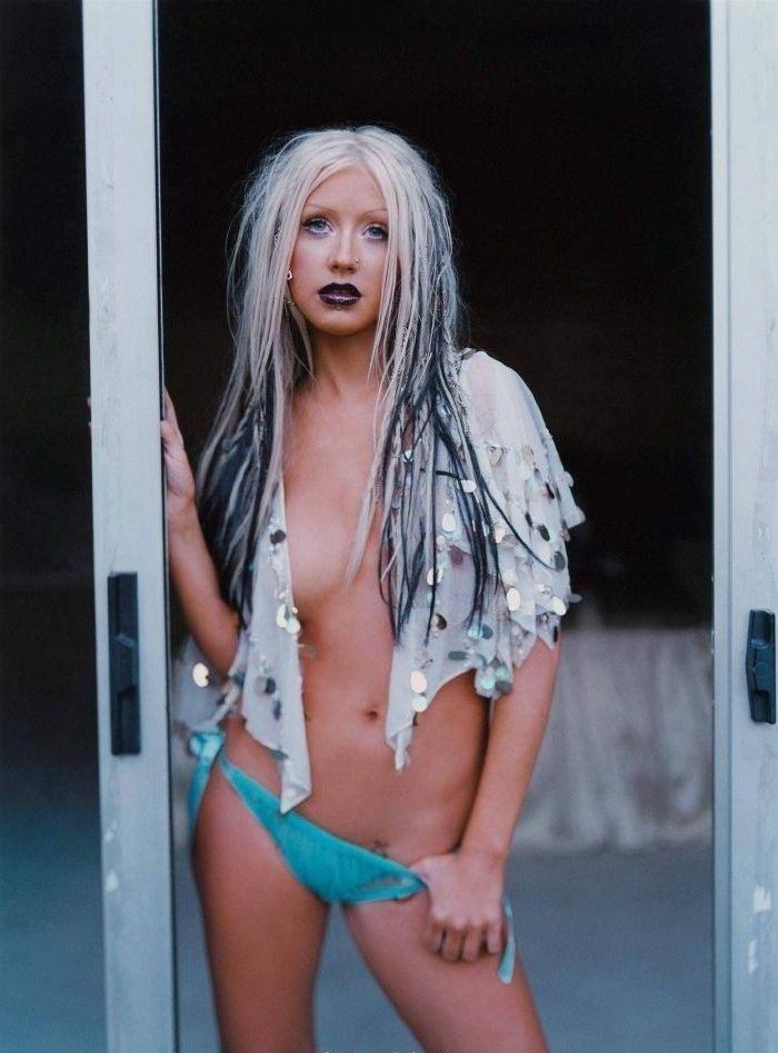 Кристина Агилера голая. Фото - 73