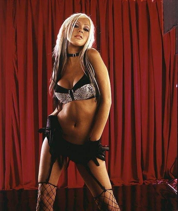 Кристина Агилера голая. Фото - 77