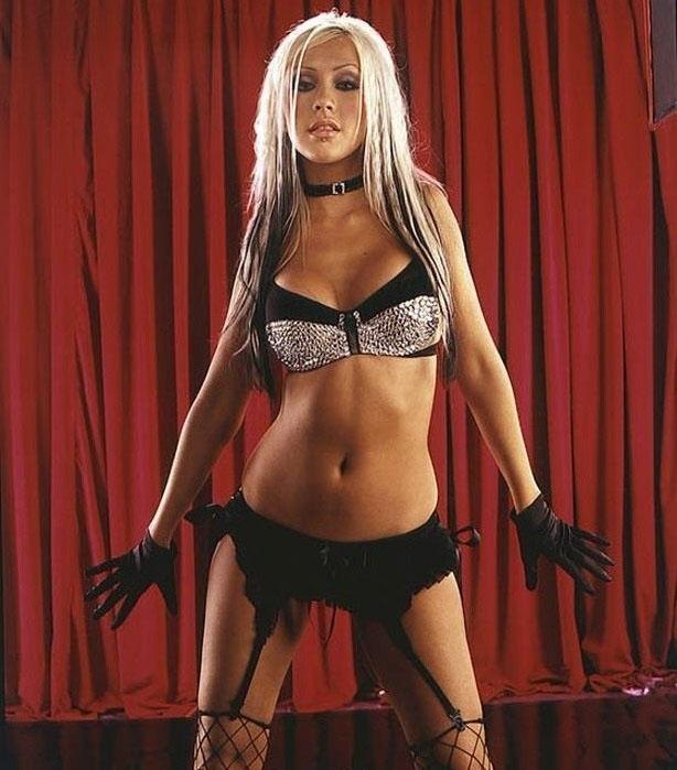Кристина Агилера голая. Фото - 78