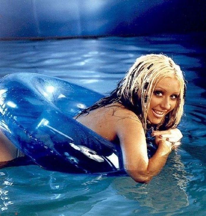 Кристина Агилера голая. Фото - 8