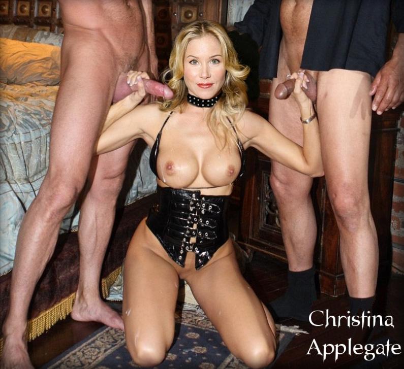 Christina Applegate In Streets