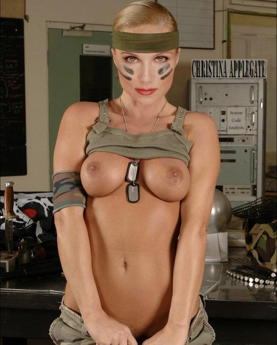 Christina Applegate Nackt. Fotografie - 194