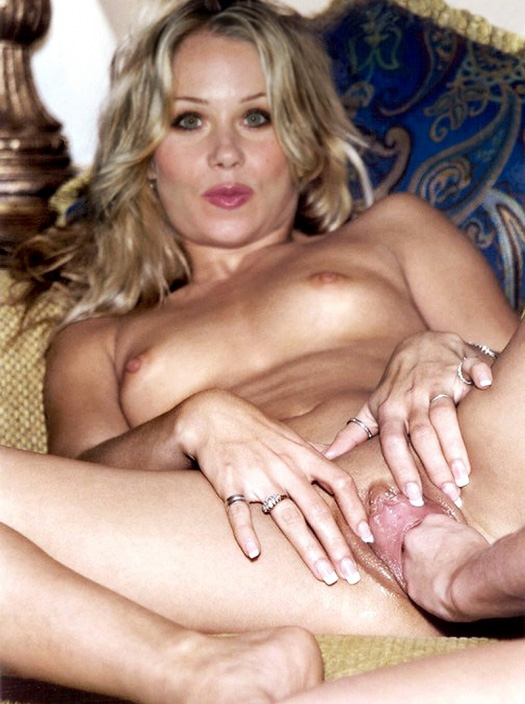 Naked christina applegate in view