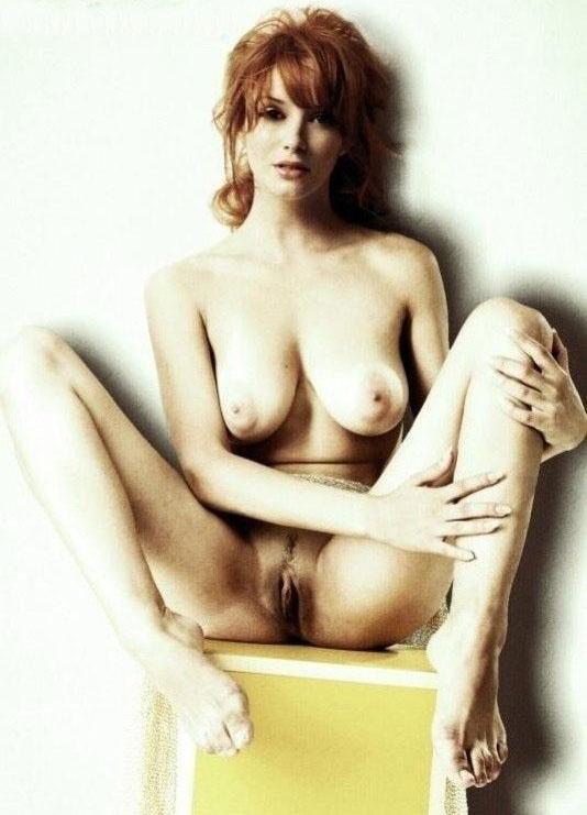 Кристина Хендрикс голая. Фото - 13