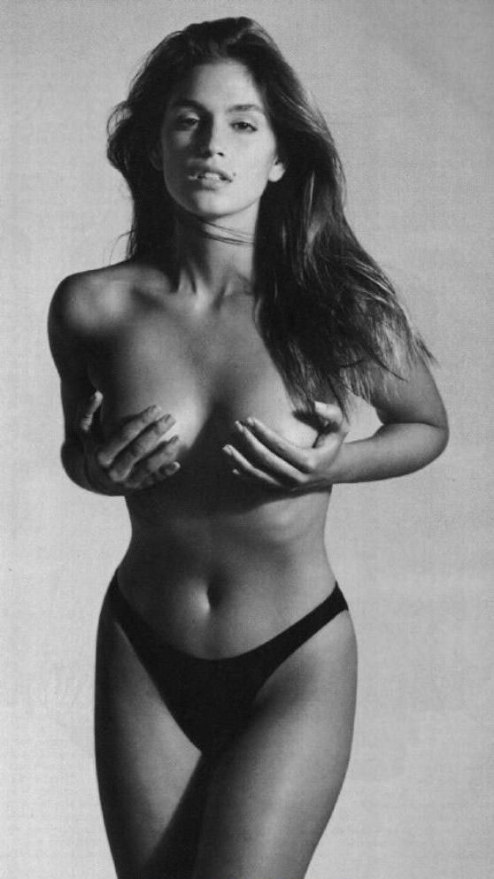 Синди Кроуфорд голая. Фото - 17