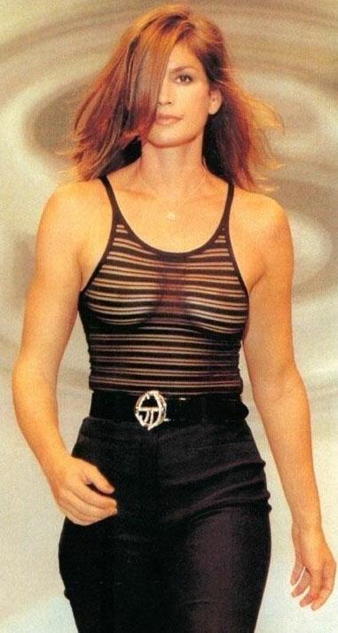 Синди Кроуфорд голая. Фото - 29