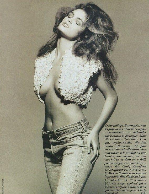 Синди Кроуфорд голая. Фото - 48