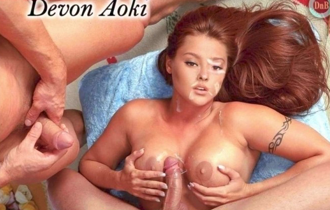 Devon Aoki nude. Photo - 4