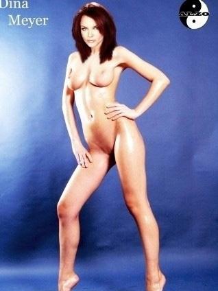 Дина Мейер голая. Фото - 5