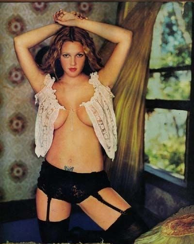 Drew Barrymore nude. Photo - 12