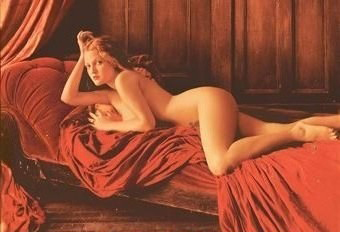 Drew Barrymore nude. Photo - 13