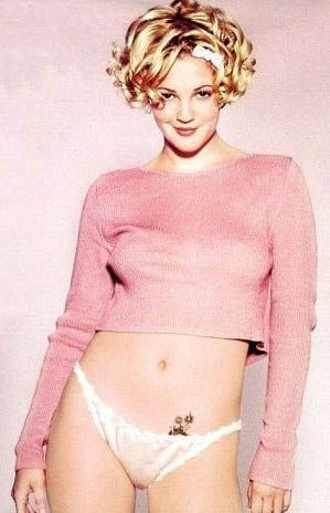 Drew Barrymore nude. Photo - 14