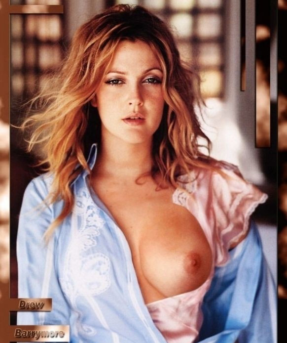 Drew Barrymore nude. Photo - 16