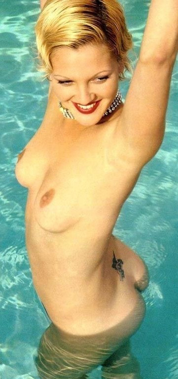 Drew Barrymore nude. Photo - 24