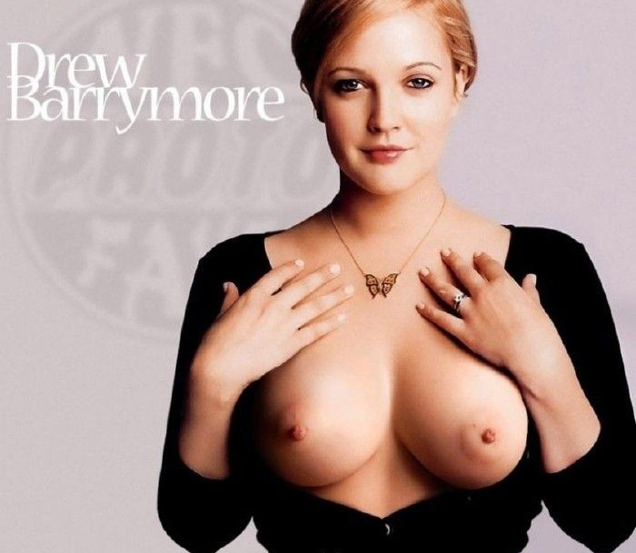 Drew Barrymore nude. Photo - 32