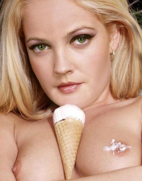 Drew Barrymore nude. Photo - 36