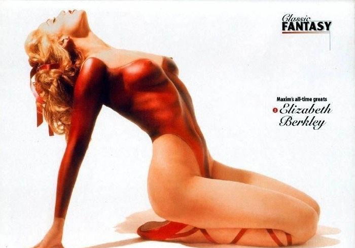 Элизабет Беркли голая. Фото - 2