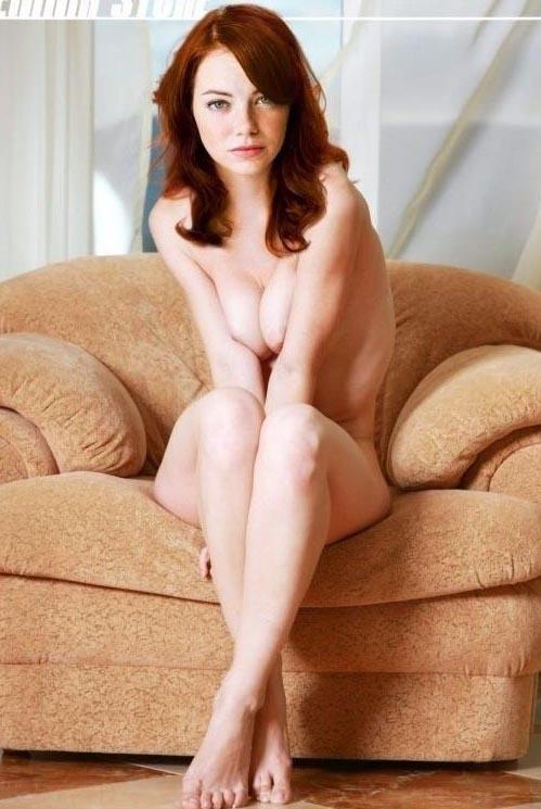 Эмма Стоун голая. Фото - 23